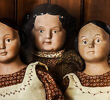 Antique Dolls by heatherfriedman