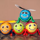 Four Easter Egg Bugs by Sue Smith