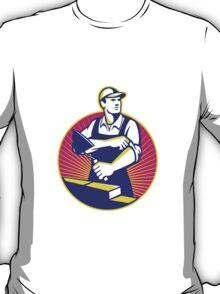 Mason Masonry Construction Worker Trowel T-Shirt