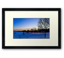 Beach Front Property Framed Print