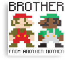 Brother From Another Mother Metal Print