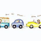 Traffic jam by Kate Garrett