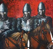 Three Knights by Kaye Miller-Dewing