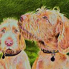 Two Dogs by Kerina Strevens