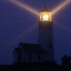 Cape Blanco Lighthouse at Night - Oregon, USA by Joshua McDonough Photography