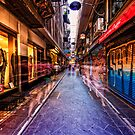 Melbourne&#x27;s famous laneways by Adriano Carrideo