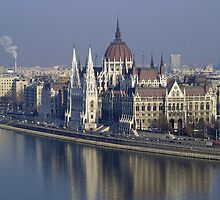 Parliament Building Budapest by Joshua McDonough