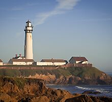 Pigeon Point Lighthouse, Highway 1 - California by Joshua McDonough