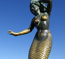 Mermaid Statue by Joshua McDonough