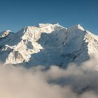 Mont Blanc in Winter by mcdonojj