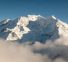 Mont Blanc in Winter by mcdonojj