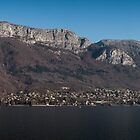 Lake Annecy, French Alps by Joshua McDonough Photography
