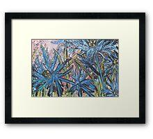 Eryngium Framed Print