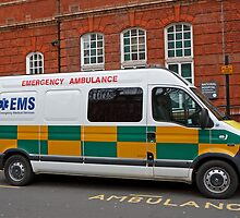 EMS Private Ambulance by Keith Larby