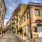 Backstreets Of Lisbon by manateevoyager
