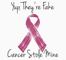 Breast Cancer Survivor Ribbon by Sarah  Eldred