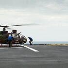 French Aérospatiale Gazelle Attack Helicopter by Joshua McDonough Photography