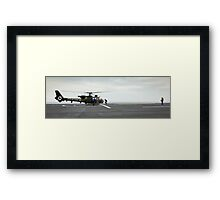 French Aérospatiale Gazelle Attack Helicopter Framed Print