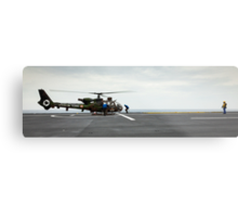 French Aérospatiale Gazelle Attack Helicopter Metal Print