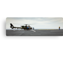 French Aérospatiale Gazelle Attack Helicopter Canvas Print