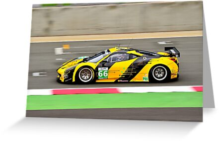 Ferrari F458 GT2 No 66 by Willie Jackson