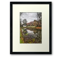Abbey Reflections Framed Print