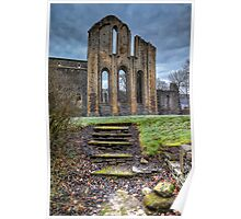 Abbey Steps Poster