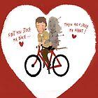 the walking dead heart/bike by daniloschirru