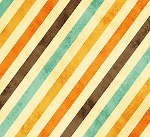 Vintage Stripes Faded by iEric