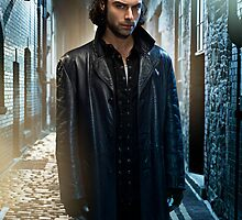 Aidan Turner as John Mitchell Being Human UK Poster by aidanturner