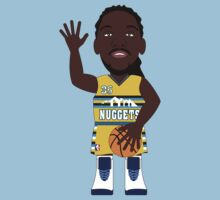 NBAToon of Kenneth Faried, player of Denver Nuggets by D4RK0