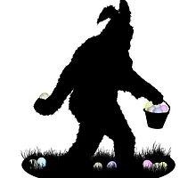 Gone Easter Squatchin by Gravityx9