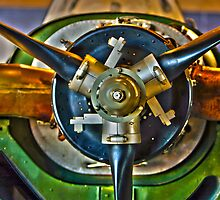 T-34C Mentor - Propeller Mount Detail by Buckwhite