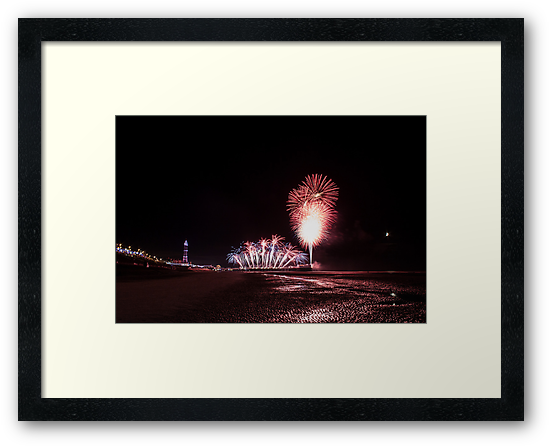 Blackpool Fireworks 5 by scottsmithphoto