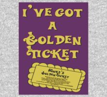 I've Got A Golden Ticket by lilu1012
