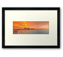 Henley beach Jetty- 2 Framed Print