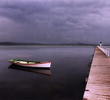 As the rain clouds descend by Chris Brunton