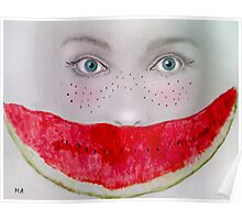 Sweet Watermelon Poster