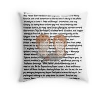 Fred and George Weasley Throw Pillow
