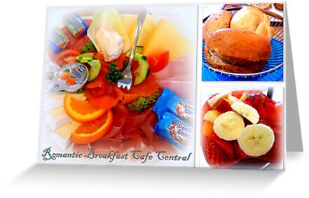 Romantic Breakfast Cafe Central by ©The Creative  Minds
