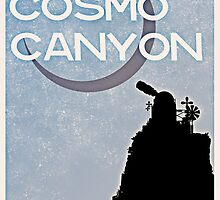 Final Fantasy VII - Cosmo Canyon Tourism Poster by Reverendryu
