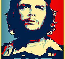 Che  hope poster 2 by Adam Asar