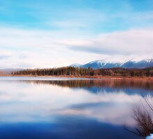 Rainy Lake, Mt. 2 by Janie Lynn Johnson