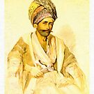 Preziosi Abdullah Kurd from Bitlis 1852 by Adam Asar