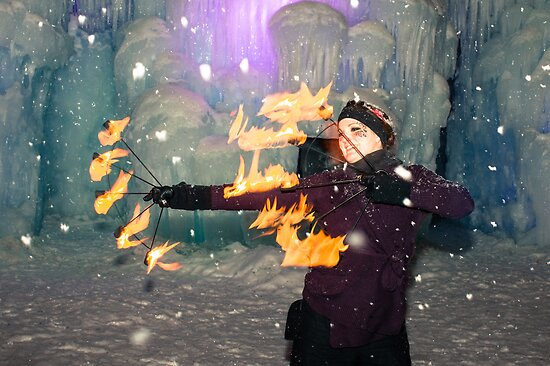 fire and ice by Brooke Reynolds