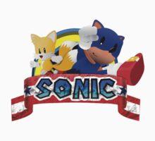 Paper Sonic by stevan6