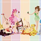 Sailor Moon Pinup - Cupcakes by CptnLaserBeam