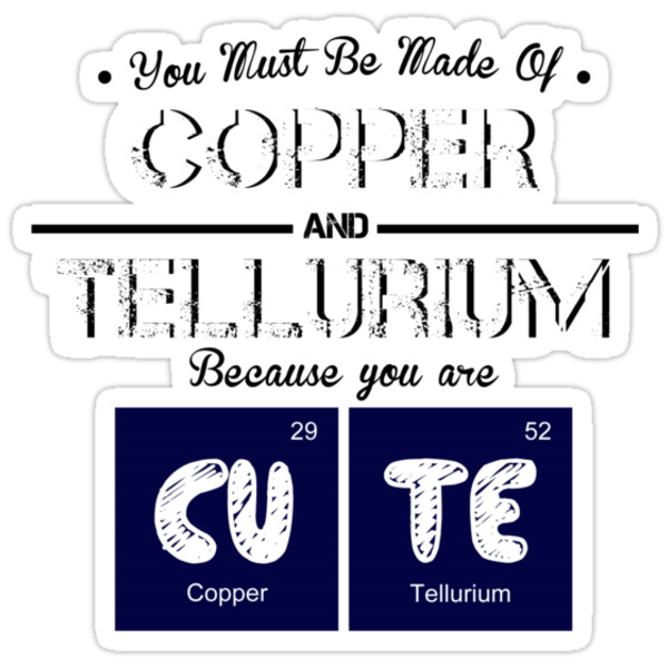 Periodic Table | CuTe by RhysDesigns94