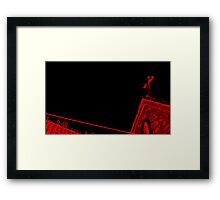 Church is †he New Red Framed Print