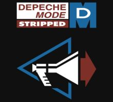Depeche Mode : Stripped - Logo by Luc Lambert